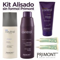 Kit de Alisado sin Formol Control Primont