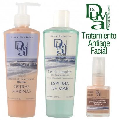 Tratamiento Antiage Rehidratante Facial Linea Oceánica Dr Duval