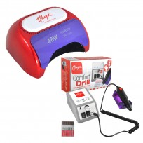 Combo Torno Comfort Drill + Cabina LED Plus Thuya