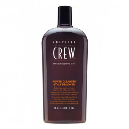 Crew Power Cleanser Style Remover shampoo de uso diario x 1000ml. American Crew