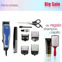 Maquina Cortadora De Pelo Wahl Homepro Basic + 8 Accesorios + Shampoo Schwarzkopf y Cepillo de Regalo!!