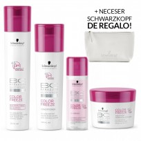 Pack BC Color Freeze Schwarzkopf: Shampoo x250ml + Acondicionador x200ml + Tratamiento x200g + Crema TermoProtectora x125ml