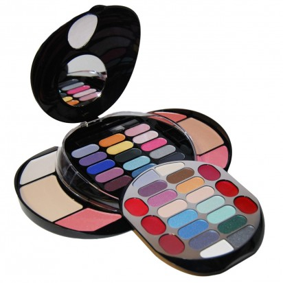 Kit de Maquillaje Deluxe Makeup 43 Colores Extra Pearl Shine BR Cosmetics