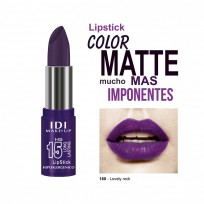 Kit Lovely Rock Maquillaje: Mascara Push Up + Labial + Esmalte + Brillo