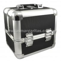 Maletin Profesional Aluminio Negro 1271