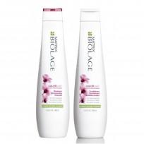 Pack Biolage Color Last: Shampoo + Acondicionador x 400ml Matrix + REGALO!!!