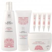 Pack Lifting Total Care Smart Therapy: Shampoo + Acondicionador + Tratamiento + Ampollas + REGALO!!