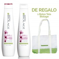 Pack Biolage Color Last: Shampoo + Acondicionador x 400ml Matrix + REGALO!!!