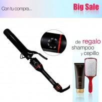 Pinza Ondular ZIP CURL Rápido 32 mm Babyliss Pro + Shampoo Schwarzkopf y Cepillo de Regalo!!