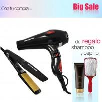 Kit Student Professional Secador + Plancha Teknikpro + Shampoo Schwarzkopf y Cepillo de Regalo!!
