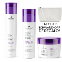Pack BC Smooth & Shine: Shampoo x 250ml + Acondicionador x 200ml + Tratamiento x 200ml