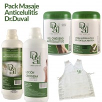 Pack  Dr. Duval Masaje Anticelulítico