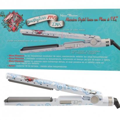 Plancha Humedo Digital Nano Titanium Babyliss Pro 2091 Edición Limitada Ink Tattoo
