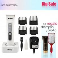 Máquina Recargable High Performance Ceramic Titanium WPRO  + Shampoo Schwarzkopf y Cepillo de Regalo!!