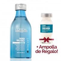 Shampoo Serie Expert Dermoprotector Scalp Sensi Balance x 250ml Loreal Professionnel + 1 Ampolla de REGALO!!!
