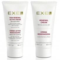 Tratamiento Peeling Cutis Normal y Seco: Gel Crema + Micropeeling Renovación Exel