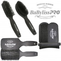 Pack Oficial Cepillos Barberia Barber Brush by Babyliss Pro