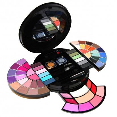 Kit de Maquillaje Deluxe Makeup 63 Colores Color Intensity BR Cosmetics