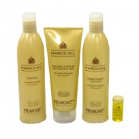 Pack Maroc-Oil: Shampoo x330ml + Acondicionador x330ml + Tratamiento x220ml + Ampolla x10ml