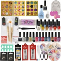 Kit Completo y Exclusivo para decoración de Uñas - Nail Art + Combo Manicuria y Decoración de Uñas Heburn