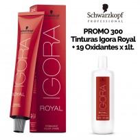 Super Pack Profesional Coloración Schwarzkopf: 300 tinturas Igora + 19 Oxidantes Lt.