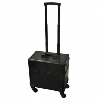 Maletin Profesional Compact Four Wheeler Black