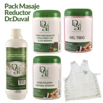 Pack Dr. Duval Masaje Reductor