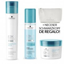 Pack BC Moisture Kick: Shampoo x250ml + Spray Acondicionador x200ml + Tratamiento x200g