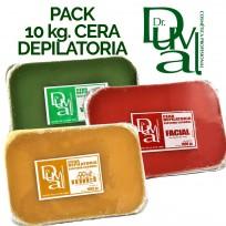 Pack 10 kgs de Cera Depilatoria Profesional Dr. Duval