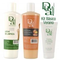 Kit Básico Corporal para el Verano: Crema Manos + Emulsión + Leche Limpieza